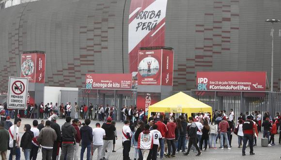 Estadio Nacional. (César Campos)