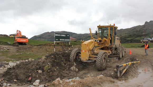 DÍA CLAVE. Luego de tres meses de retraso, hoy se iniciaría una nueva minería con el proyecto Conga. (USI)