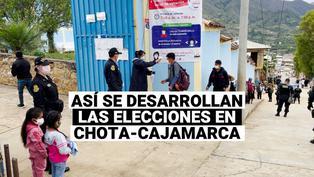 De esta manera se desarrollan las elecciones en Chota - Cajamarca