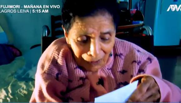 Anciana de 84 años pide a su hijo que le devuelva la casa que construyó con mucho esfuerzo. (Video: Día D)