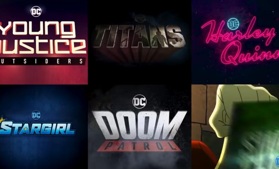 DC Universe acaba de lanzar el primer video promocional de sus programas para el próximo año. (Captura)