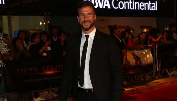 """""""Yo he firmado uno de mis mejores contratos como actor"""", dijo Villanueva. (USI)"""