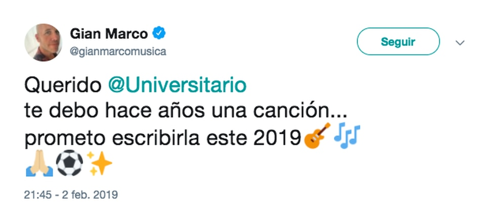 (Twitter Gian Marco)