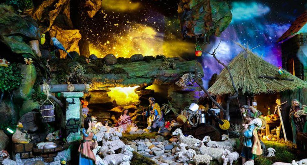 El nacimiento andino es exhibido de manera gratuita en la casa de José Sotelo ubicada en la calle Centenerio en el distrito de Independencia, en Huaraz. (Foto: Facebook Puma de los Andes)