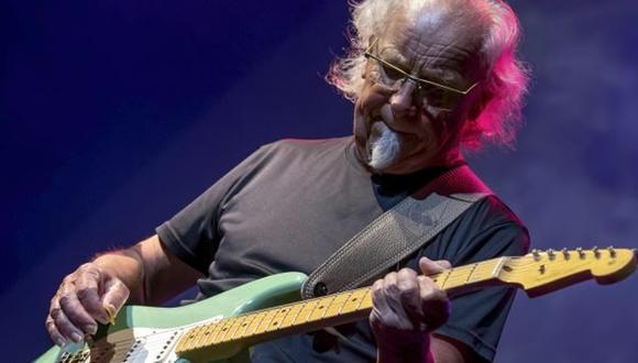 """Martin Barre, guitarrista de Jethro Tull: """"El rock no tiene edad"""". (Drew Stawin Photography)"""