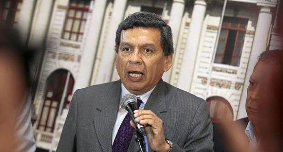 """""""Tenemos demasiadas denuncias de corrupción en el Congreso, para seguir sumando congresistas que siguen siendo investigados por denuncias de corrupción muy serias"""", señaló Cevallos. (Foto: GEC)"""