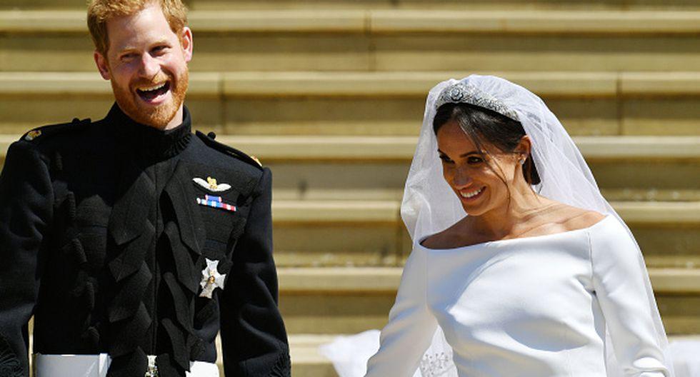Boda real: príncipe Harry y la actriz Meghan Markle (Getty Images)