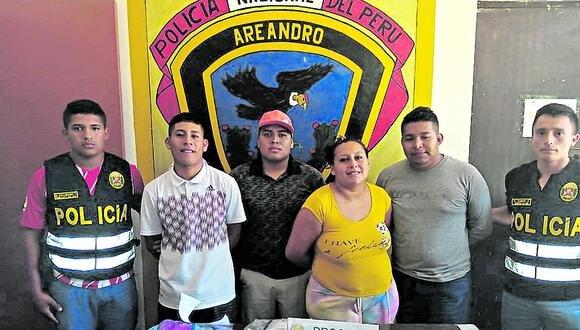 Los presuntos integrante de la red criminal fueron internados al penal de Puerto Pizarro.