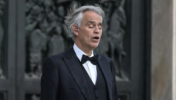 El pasado 12 de abril, día de Pascua, Bocelli ofreció un emotivo concierto en la catedral de Milán ante una ciudad vacía y confinada para dar un mensaje de esperanza al mundo. (AFP)