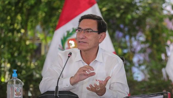 Martín Vizcarra reiteró que las elecciones serán el 11 de abril del 2021. (Foto: Presidencia)
