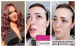 Rosangela Espinoza solicita ayuda para familiar que padece de COVID-19