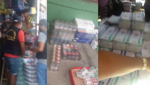 Trujillo: Ternas capturan a uno de los principales distribuidores de cigarrillos ilegales (Foto: PNP)