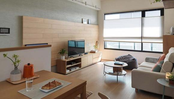 Las salas amplias, son algunas de las áreas escogidas por los clientes para realizar algunas modificaciones en sus futuros departamentos, en caso los compren en planos. (Foto: home-designing.com)