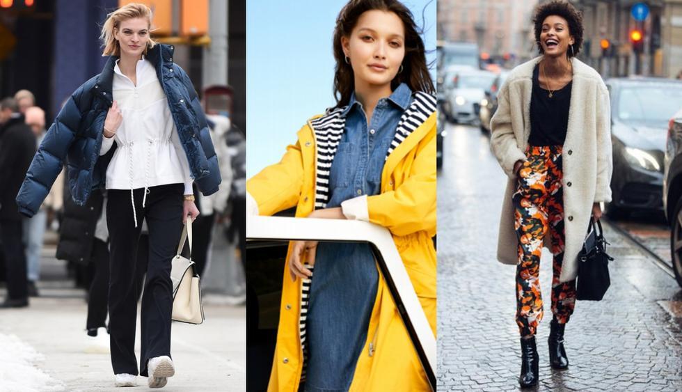 Dale un nuevo aire a tu armario con las prendas básicas que son tendencia esta temporada. (Fotos: Difusión)