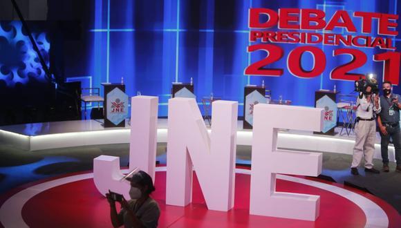 El debate entre los candidatos presidenciales se realizará el domingo 30 de mayo. (Foto: GEC)