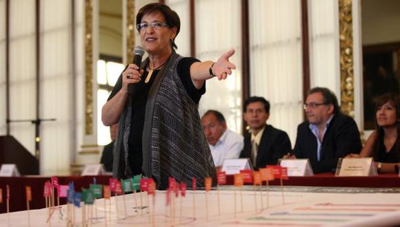 Villarán se presentó en el Congreso de la República, (USI)