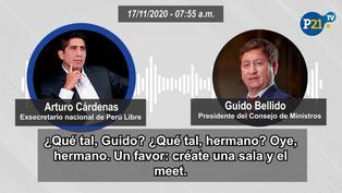 Los Dinámicos del Centro: El premier experto en crear reuniones virtuales para Cerrón