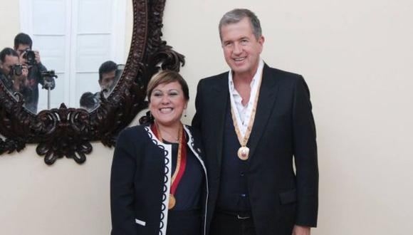 La ceremonia se realizó en la sede de la Asociación Mario Testino (MATE). (Difusión)