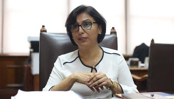 La ministra habló sobre el reparto del subsidio y los problemas que se han presentado en la plataformas digitales para tramitar su cobro. (GEC)