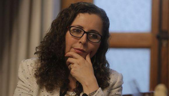 """Rosa María Bartra: """"Esperamos que PPK defina fecha y lugar"""". (DavidHuamaní/Perú21)"""