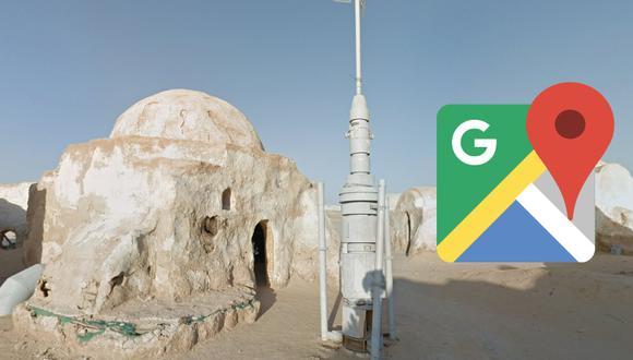 ¿Dónde queda realmente el lugar donde nació Darth Vader? Google Maps te muestra Tatooine. (Foto: Google)