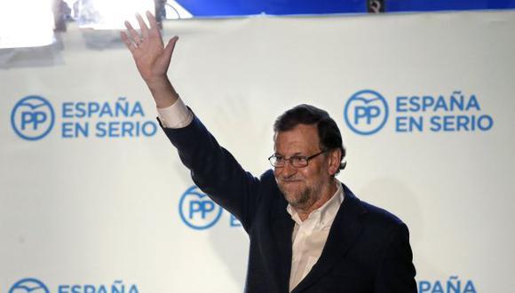 España: Socialistas y Podemos impedirán que Mariano Rajoy sea reelegido como presidente. (EFE)