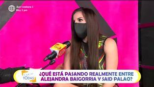 Alejandra Baigorria se defiende tras duros comentarios por ampay con Said Palao