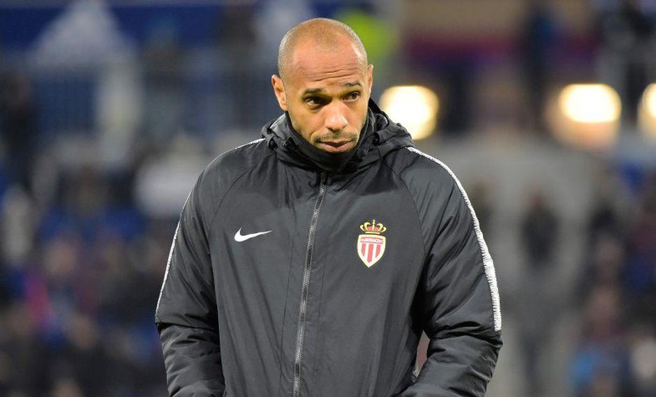 La fuerte crítica contra Thierry Henry de un jugador de Mónaco. (Foto: AFP)