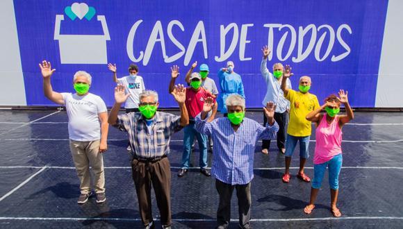 La Casa de Todos alberga a personas que vivían en las calles al no tener un hogar. (Foto: Beneficencia de Lima)
