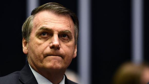 """Bolsonaro alegó """"cuestiones de agenda"""" para cancelar la audiencia con el ministro francés de Relaciones Exteriores. (Foto: AFP)"""
