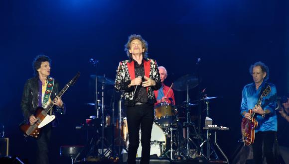 The Rolling Stones en una de sus presentaciones en el Hard Rock Stadium  de Miami. (Foto: AFP)