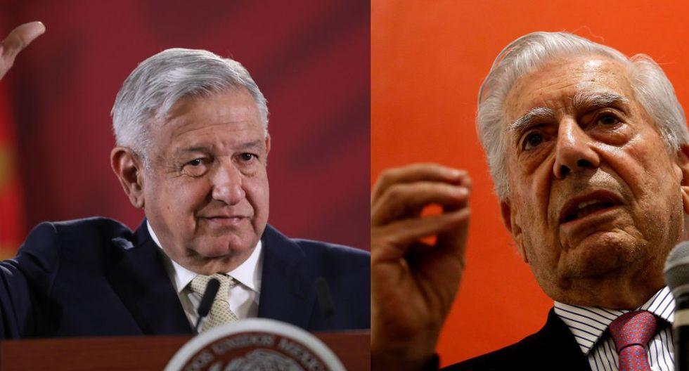 """Mario Vargas Llosa dice que con AMLO México podría volver a la """"dictadura"""". (EFE / AFP)"""