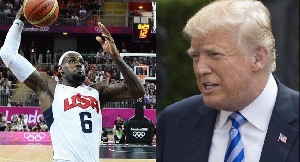 """""""Estamos en una situación ahora, en EE.UU., donde toda la cuestión racial se ha recrudecido. Creo que nuestro presidente está tratando de dividirnos"""", señaló LeBron a CNN. (Foto: EFE)"""