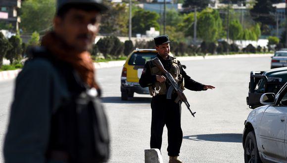 El ataque talibán tuvo lugar en la provincia occidental de Farah, Afganistán. (Foto: AFP)