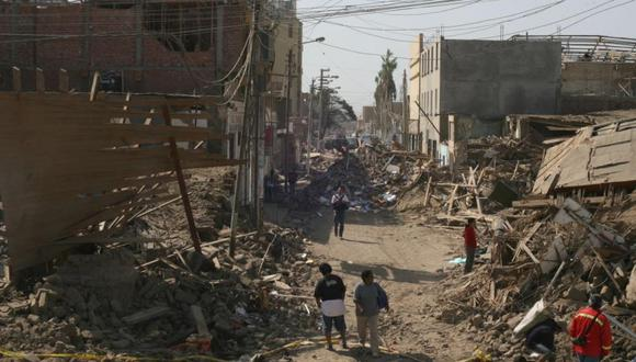 Terremoto de Pisco (2007).