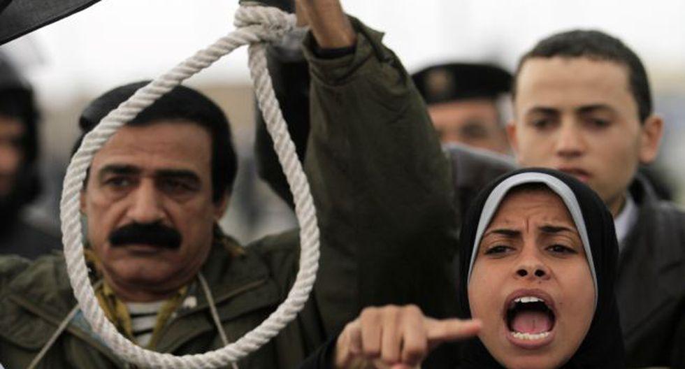 Egipcios claman justicia. (AP)