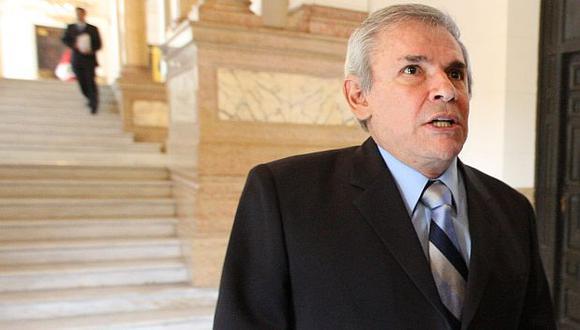 Luis Castañeda pidió no adelantar opinión sobre Michael Urtecho. (Luis Gonzales)