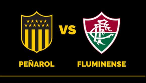 Peñarol vs. Fluminense se miden por la Copa Sudamericana 2019. (Foto: @OficialCAP)