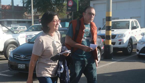 Pier Figari y Ana Herz conocieron a Keiko en la década de 1990. (USI)