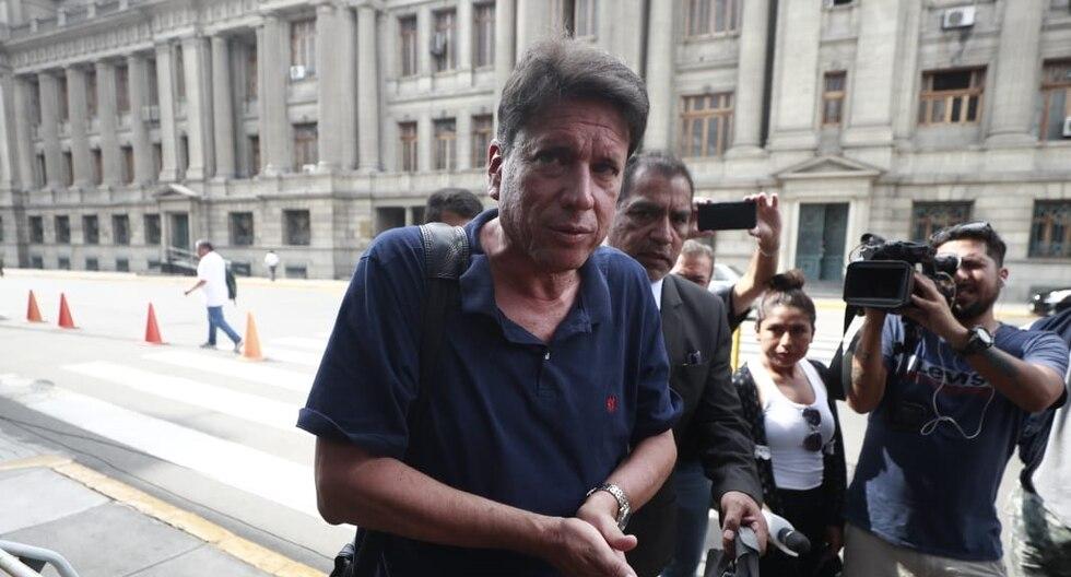 Poder Judicial condenó a 6 años y 8 meses de cárcel a Álvaro Delgado Scheelje (César Campos/GEC).