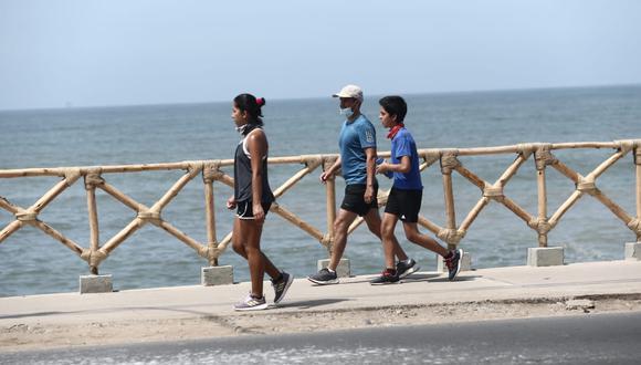Cuarentena: Minsa recomienda 30 minutos de actividad física tres veces por semana. Jesus Saucedo / @photo.gec