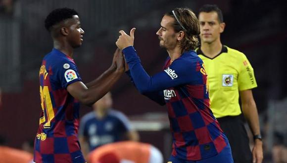 Ansu Fati es víctima de racismo en una vergonzosa crónica deportiva. (Barcelona)