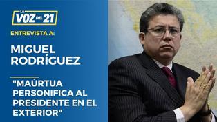 """Miguel Rodríguez Mackay: """"Maúrtua personifica al presidente en el exterior"""""""