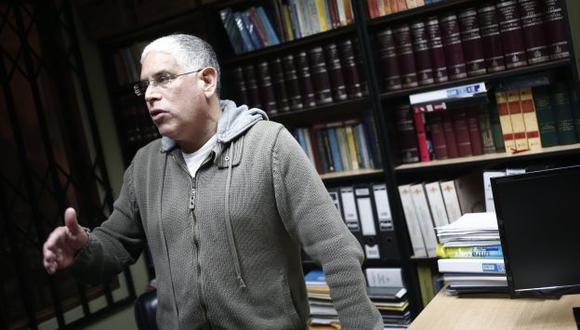 Óscar López Meneses dice que quiere colaborar. (Perú21)