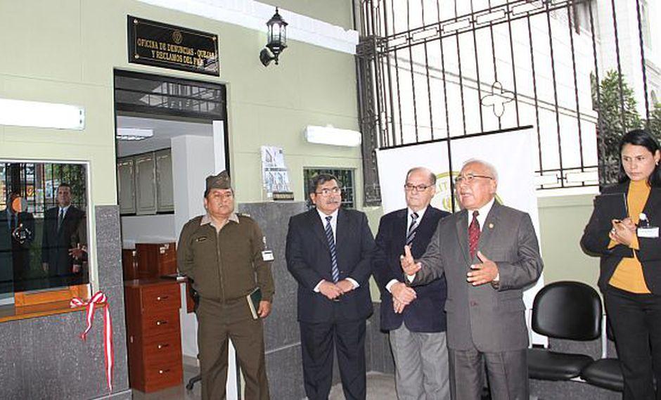 Fuero Militar Oficial abre oficina para denunciar a malos efectivos. (Difusión)