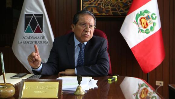 El fiscal supremo Pablo Sánchez lidera el equipo especial del caso Cuellos Blancos. (GEC)