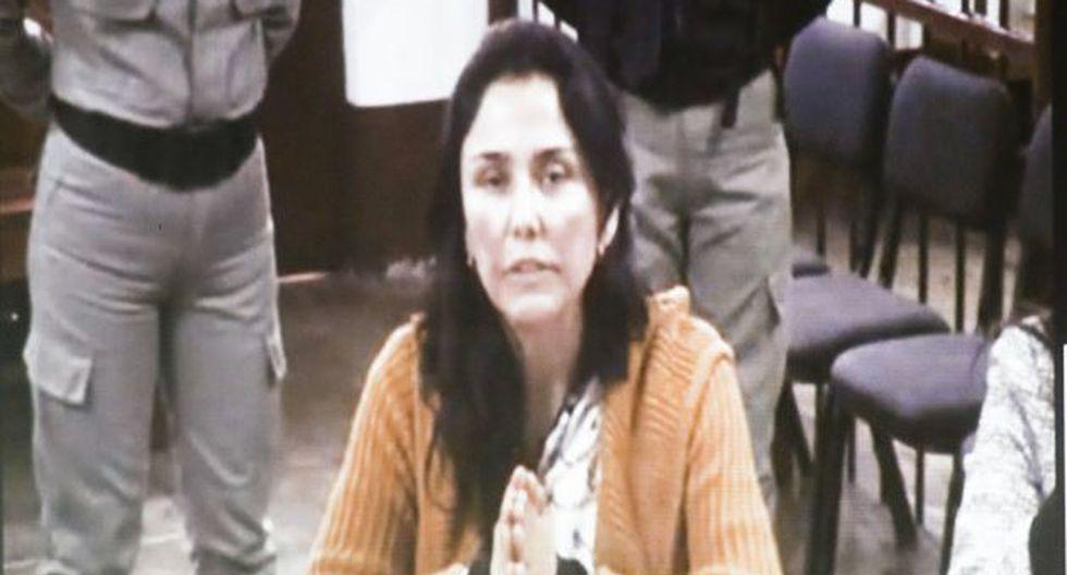 Nadine Heredia espera decisión del Poder Judicial sobre recurso para salir en libertad.