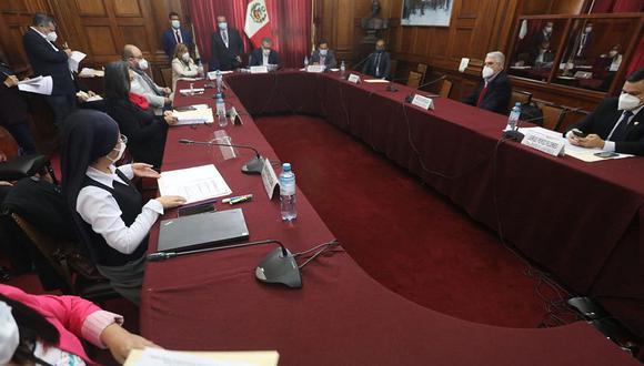 El pleno del Congreso decidirá el futuro de la comisión especial encargada de elegir a los nuevos magistrados del TC. (Foto: Congreso)