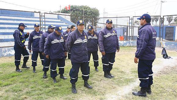 Actualmente contamos con 1,500 serenos en Lima. (USI)