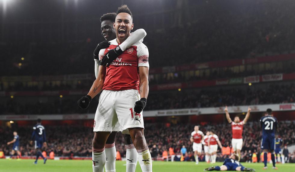 Arsenal goleó 4-1 a Fulham por la Premier League. (EFE)